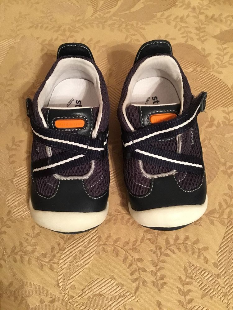 643c49b775e3e Infant Boys STRIDE RITE Leather Sandals Shoes Gray & Red - Size 4.5M # fashion #clothing #shoes #accessories #babytoddlerclothing #babyshoes