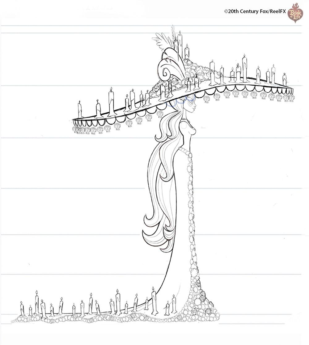 Concept Arts De The Book Of Life Por Alison Donato Thecab The