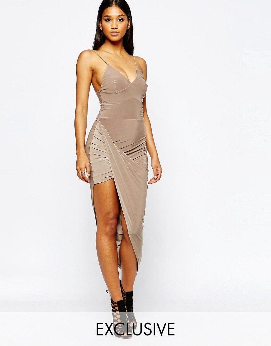 0ea7cfe6d Vestido estilo camisola con falda asimétrica de Club L.