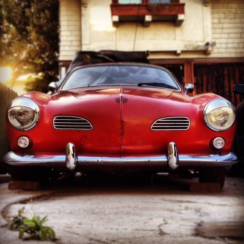 This is my 1968 Karmann Ghia \
