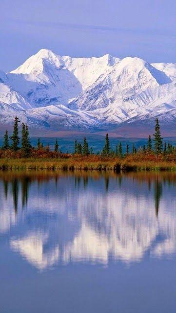 Majestic Reflections, Alaska ~ Photos Hub