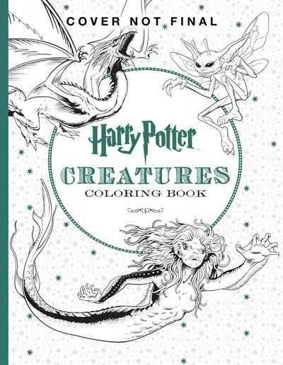 Harry Potter Magical Creatures Coloring Book Pinterest