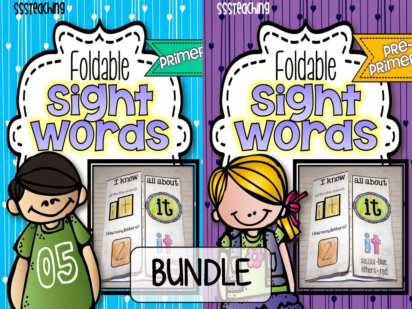 Primer Sight Word Interactive Foldable Pack