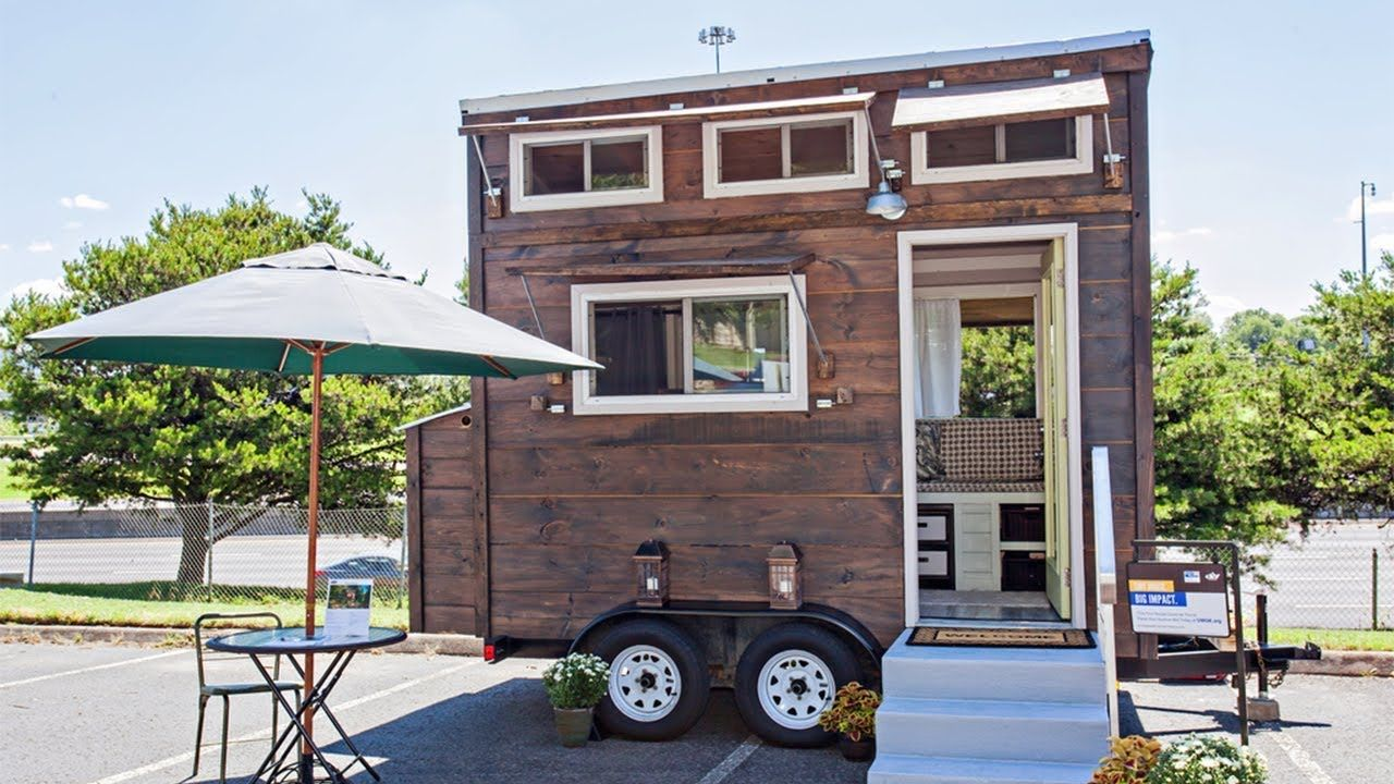 Micro United Way Tiny House once Featured on The