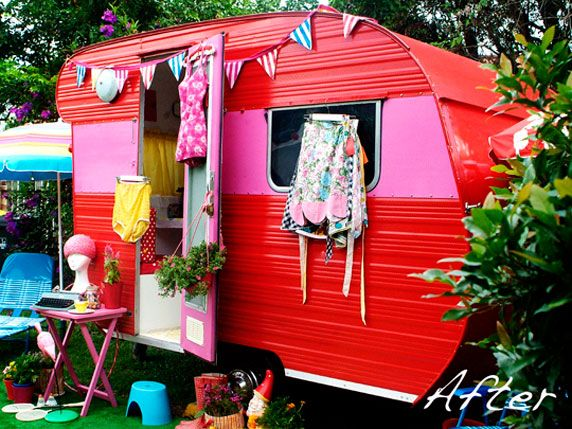 To live like a gypsy for a few months travel wherever for Camping au jardin