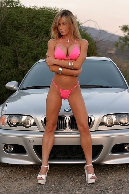 Hot Chicks With Hot Cars