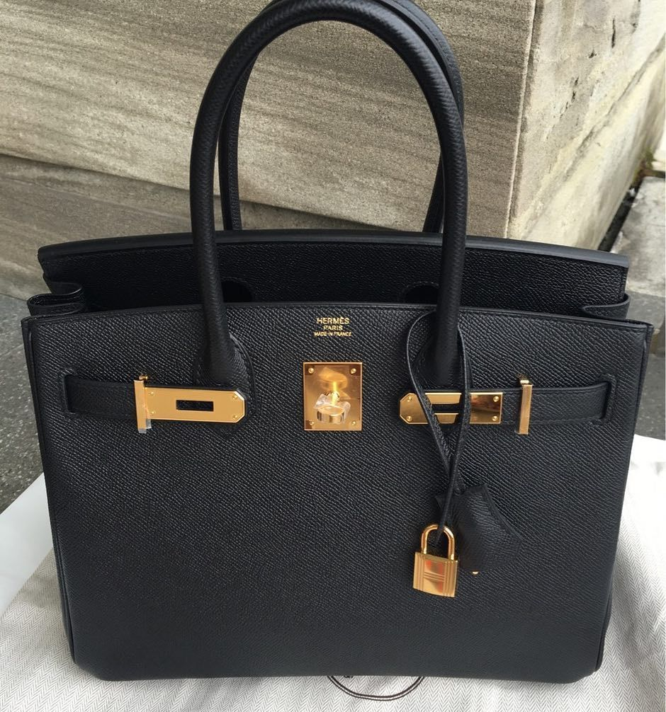 11cd65cd48 Another piece just got  Birkin 30 Black Epsom GHW