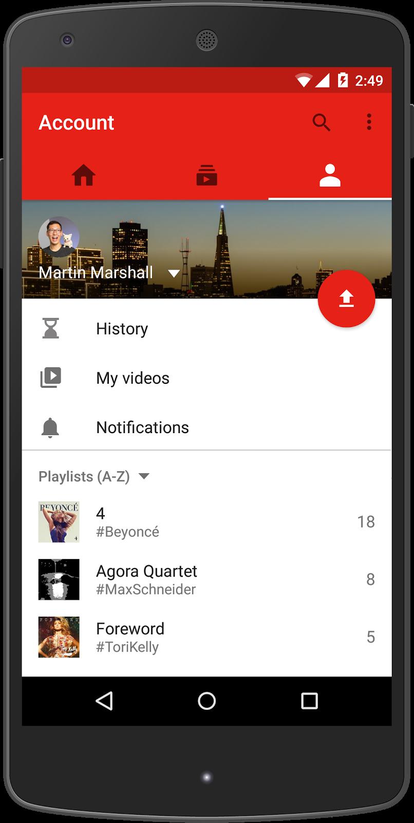 YouTube3 | Mobile | App Design | Video editing apps, App
