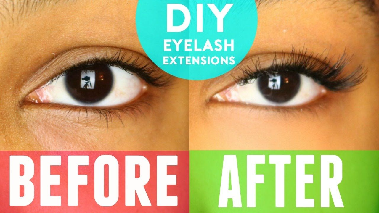 Great Video On Diy Eyelash Extensions Makeup Pinterest