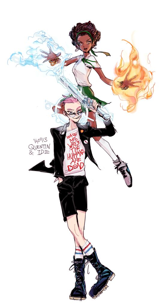 Quentin Quire Oya Comic Books Art Comic Illustration Marvel Comic Character