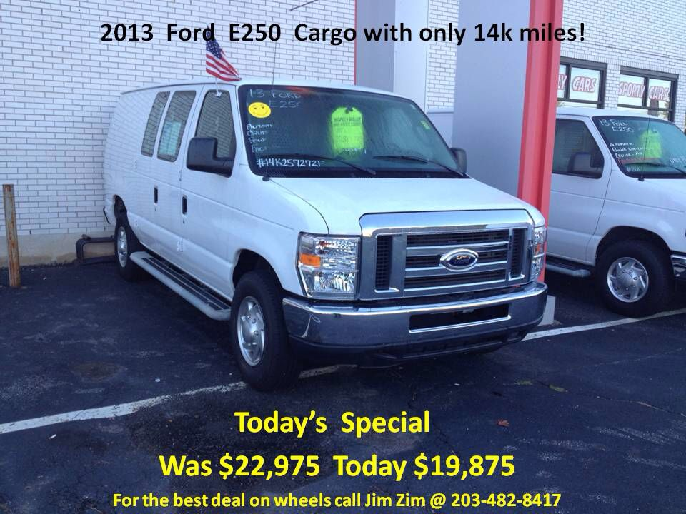 2014 Ford E Seriescargo E 250 E 250 3dr Extended Cargo Van Full
