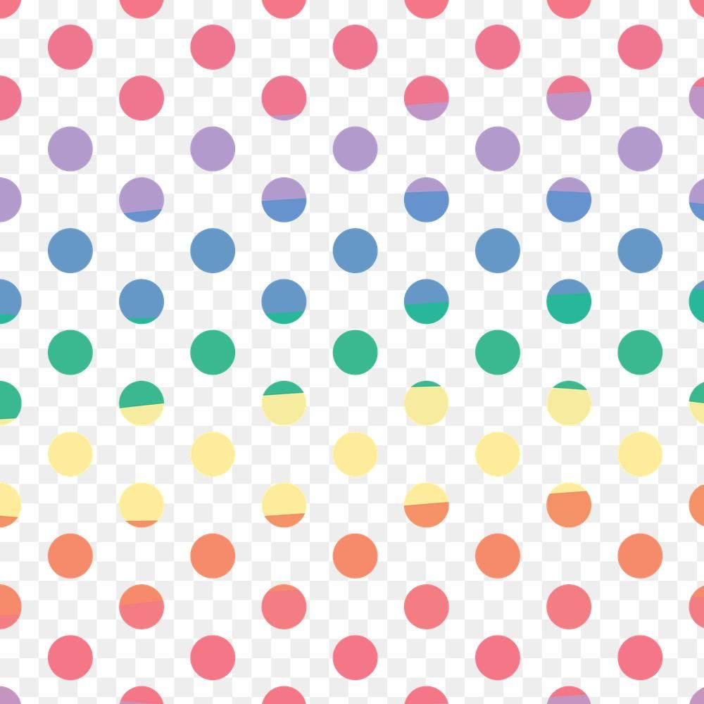 Colorful Png Cute Polka Dot Pattern For Kids Free Image By Rawpixel Com Tana Polka Dot Pattern Pattern Png