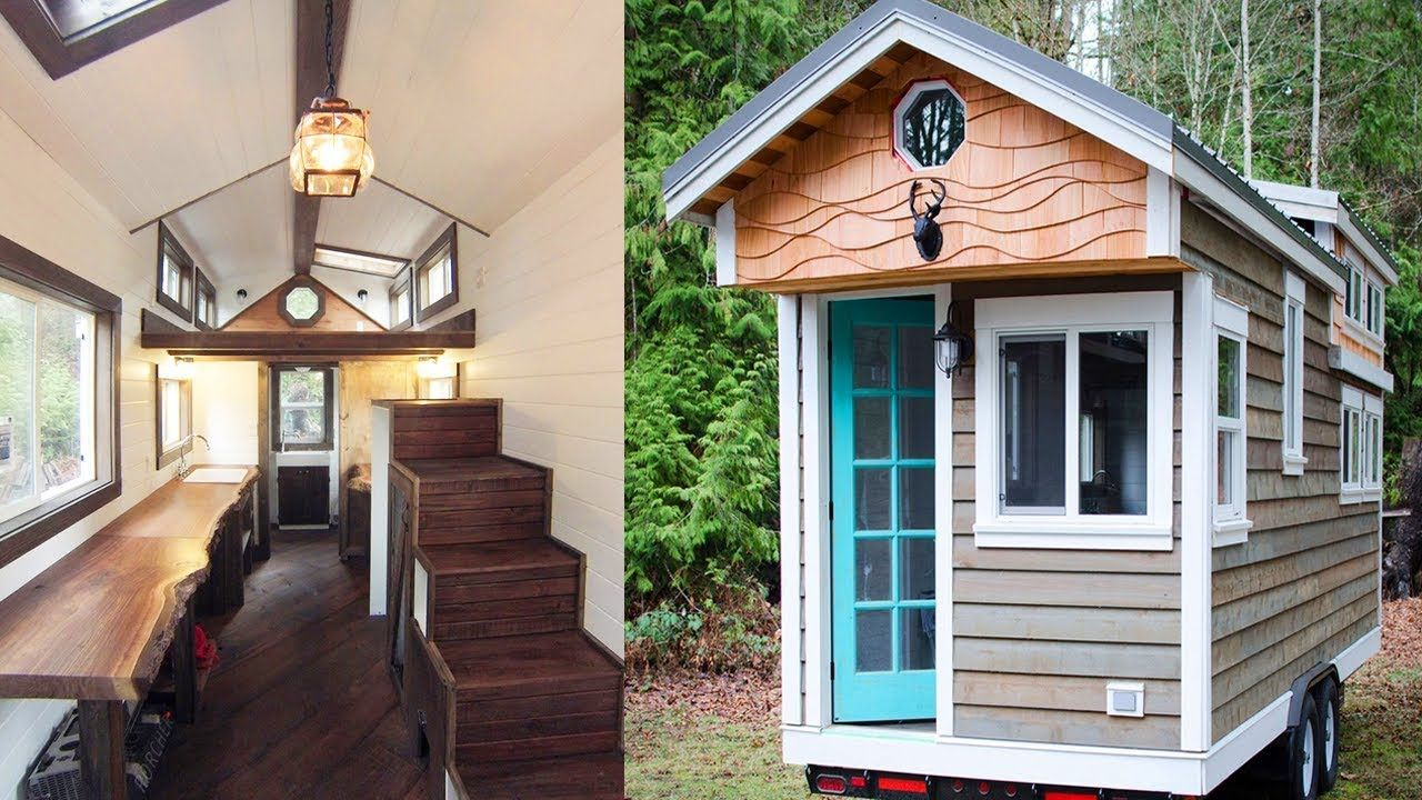 Rewild Tiny House on Wheels in Vancouver Island | Tiny House Design ...