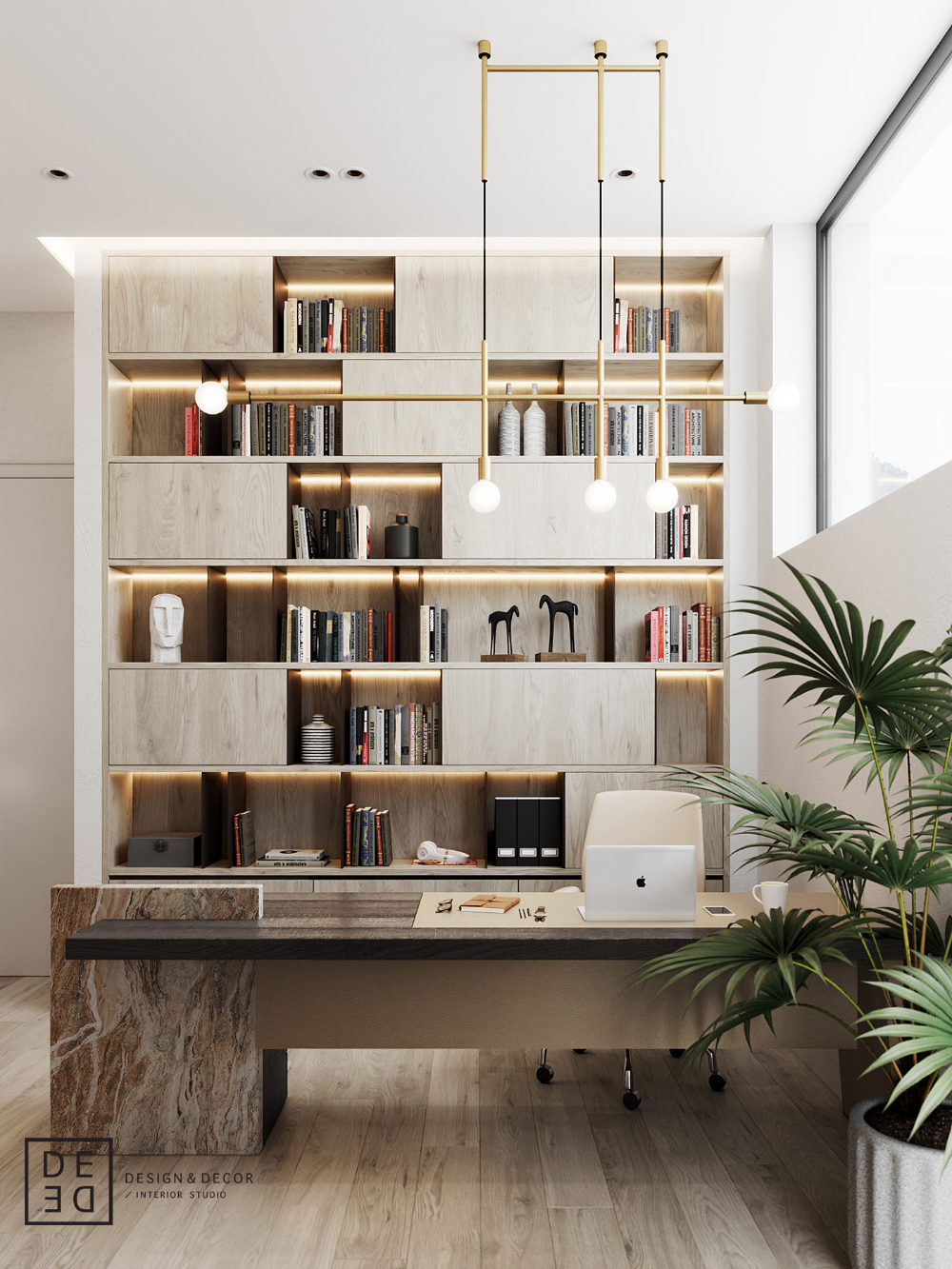 De De Villa On Cyprus First Floor On Behance Home Office Design