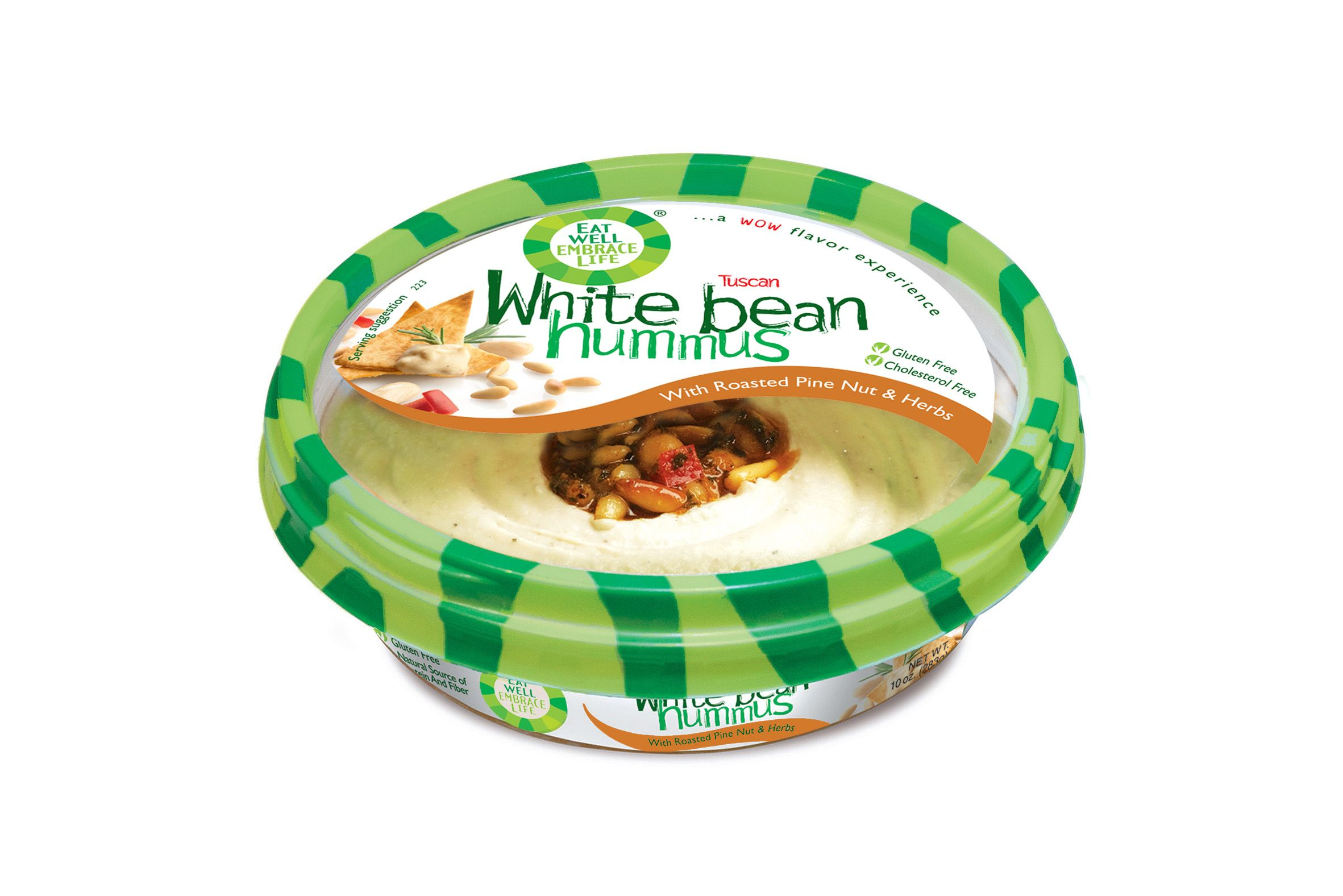 """Eat Well Embrace Life's White Bean Hummus is my favorite hummus flavor!"""