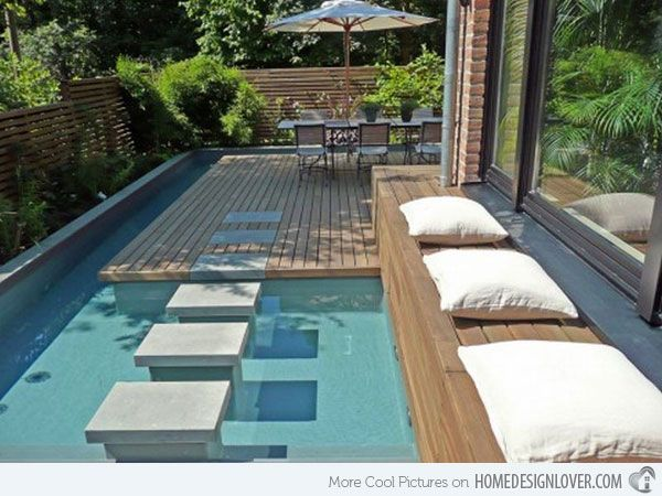 Exceptional 15 Great Small Swimming Pools Ideas | Home Design Lover