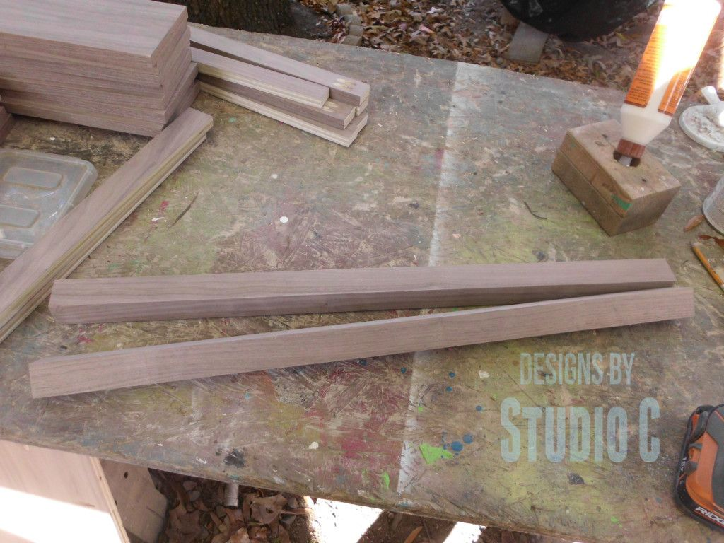 How To Make Furniture Legs With Plywood Diy Furniture Legs