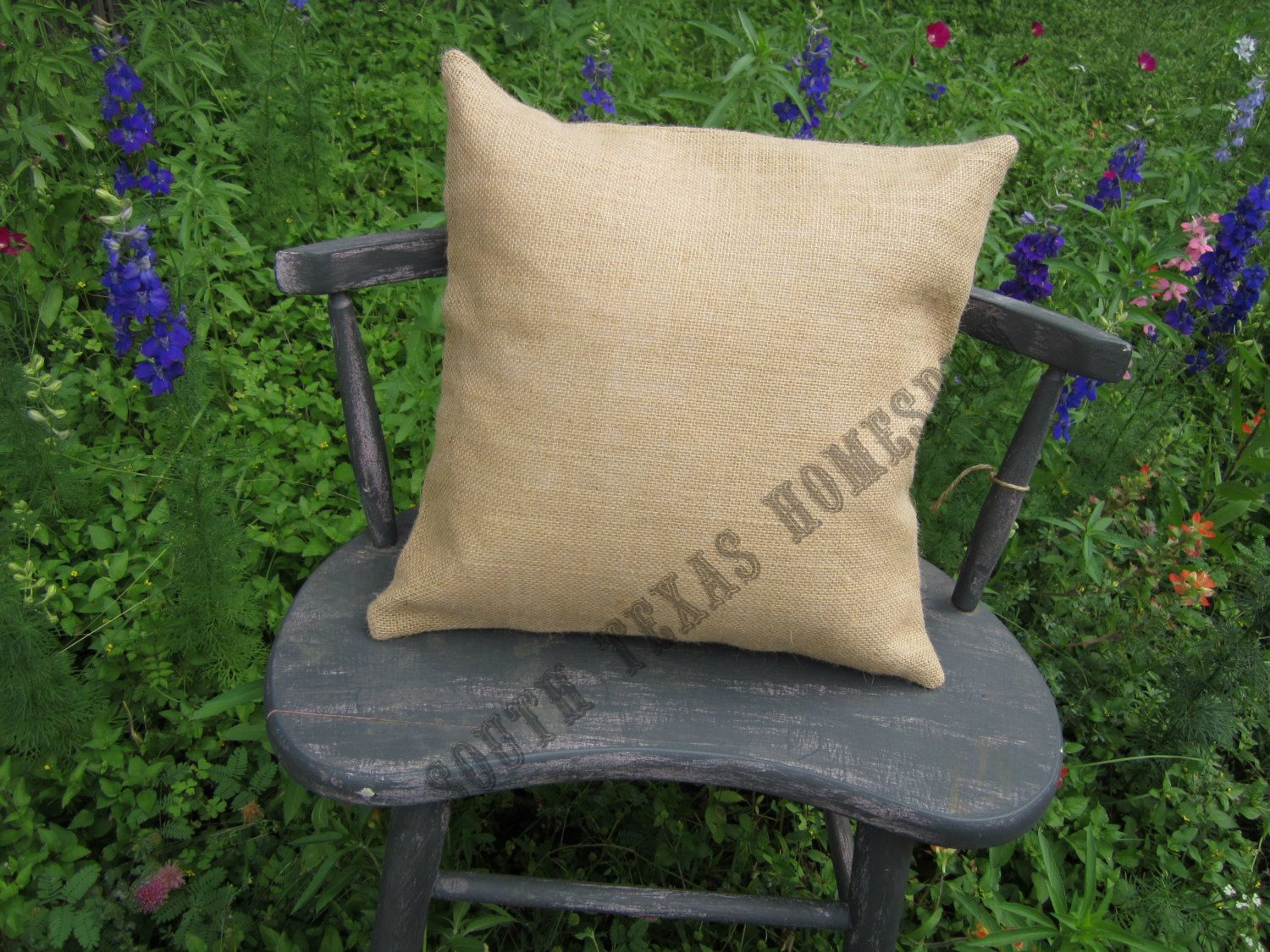 10 pack Burlap Pillow Covers 15 X 15 Case Blank Wholesale Price