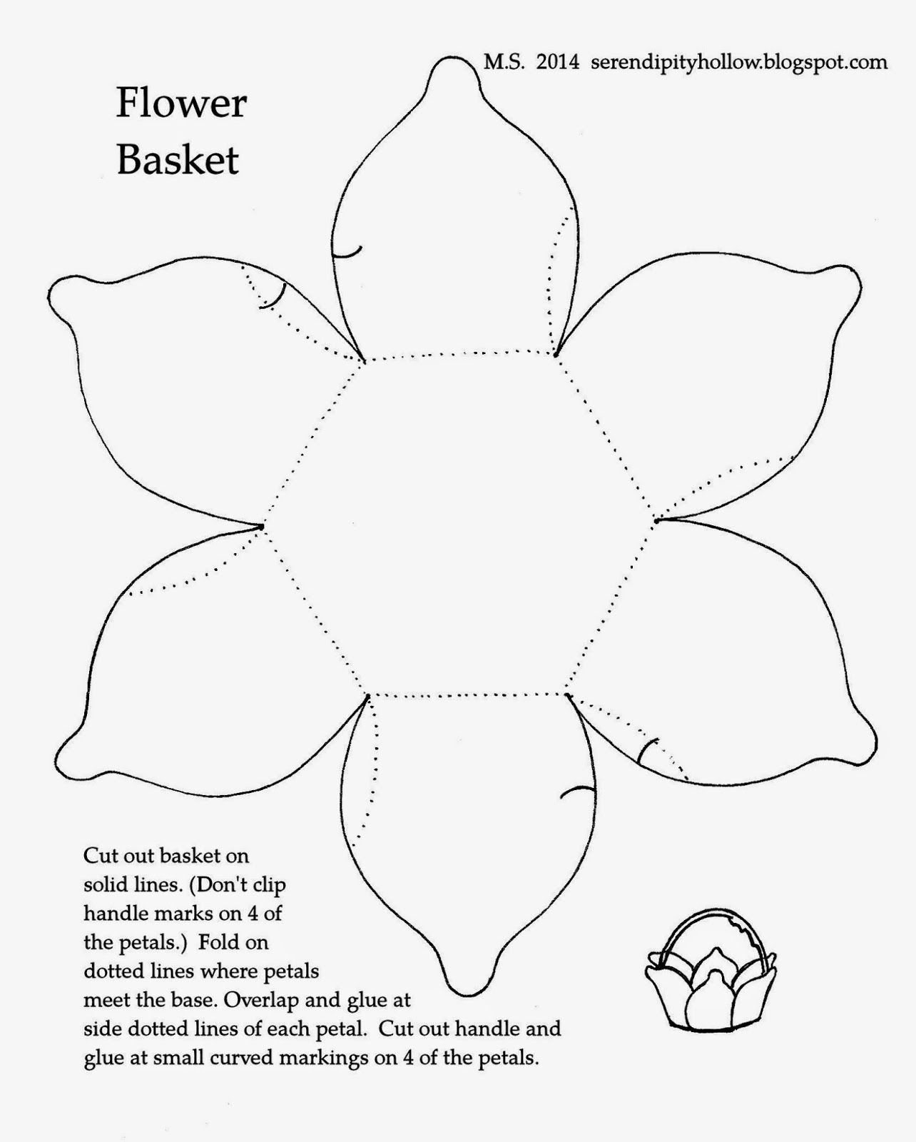 Serendipity Hollow: Tiny Easter Baskets | ПАСХА | Pinterest ...