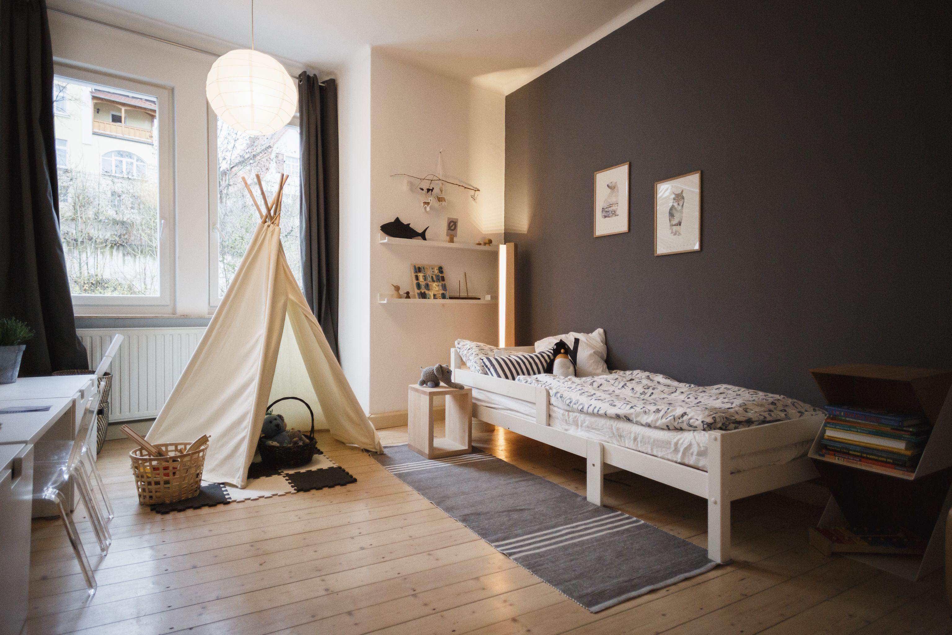 Modernes Kinderzimmer im skandinavischen Stil | Interieur ...