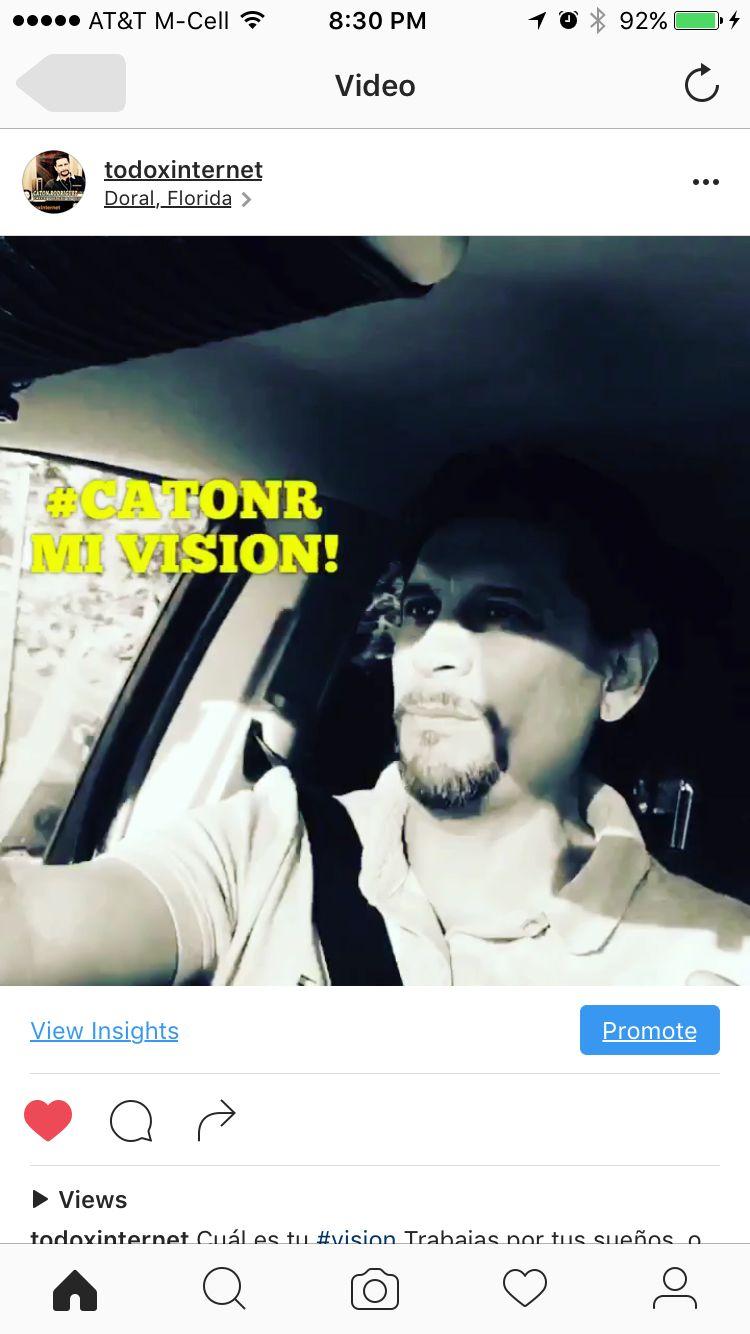 Cuál es tu #vision Trabajas por tus sueños  o los de otra persona.#catonr,#todoxinternet, #trabajoencasa,#negocioencasa