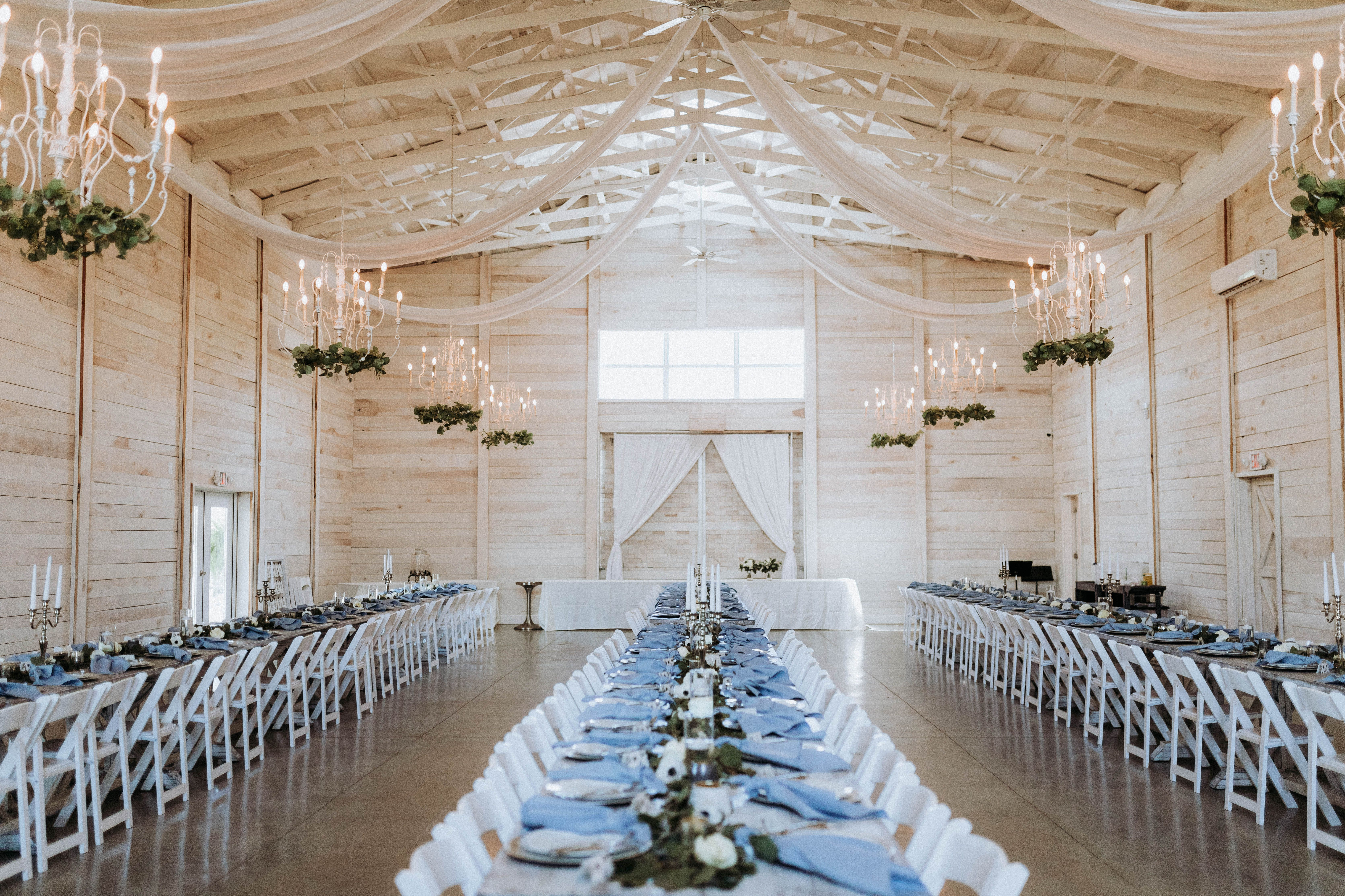 Baby Blue Themed Wedding Reception In 2020 Blue Themed Wedding Reception Blue Themed Wedding Wedding Venues