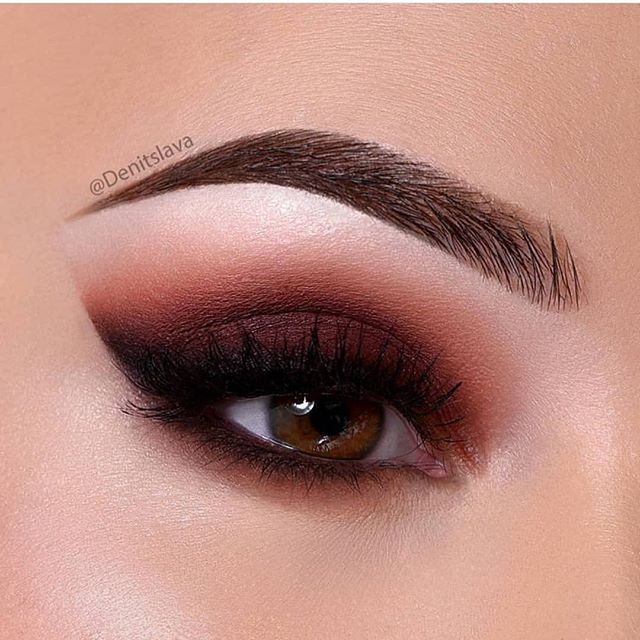 Beautiful eye makeup for brown eyes