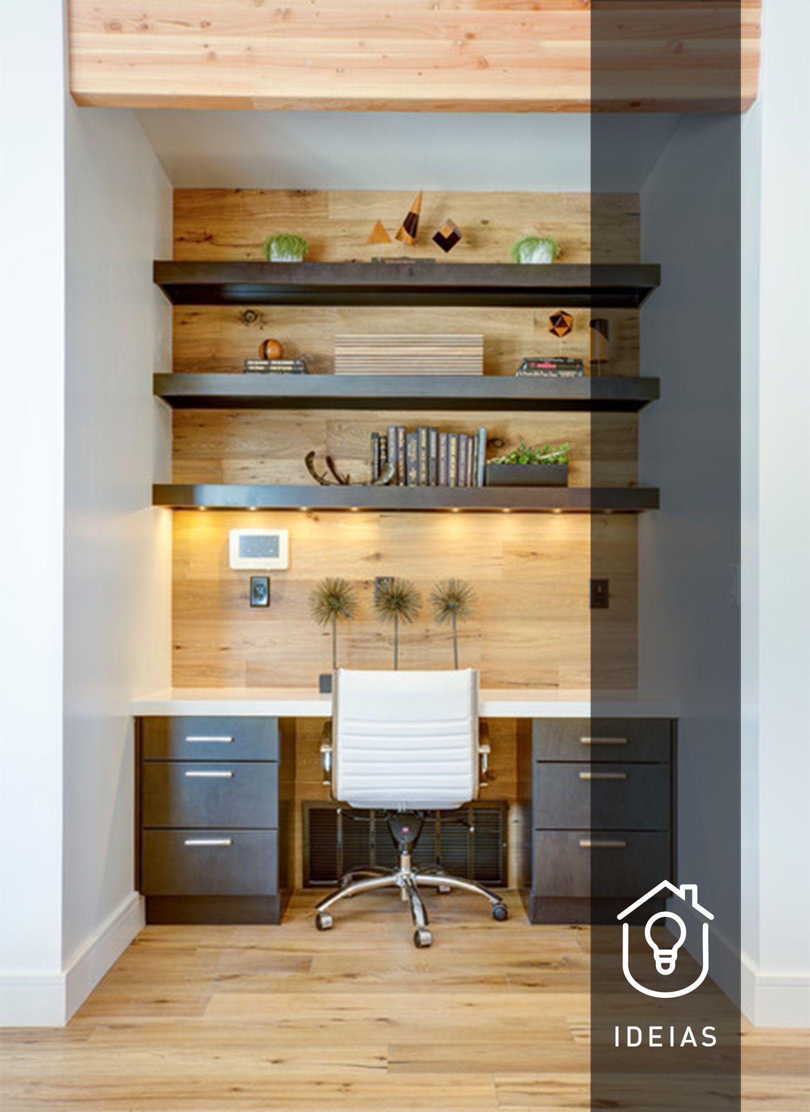 Ideias De Construção E Decoração Do Espaço At Home Office Idemall