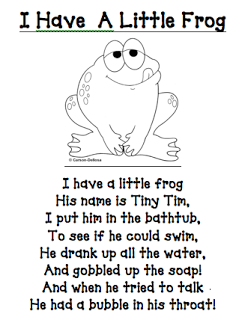 First Grade Best Frog And Toad Preschool Poems Kids Poems Classroom Songs