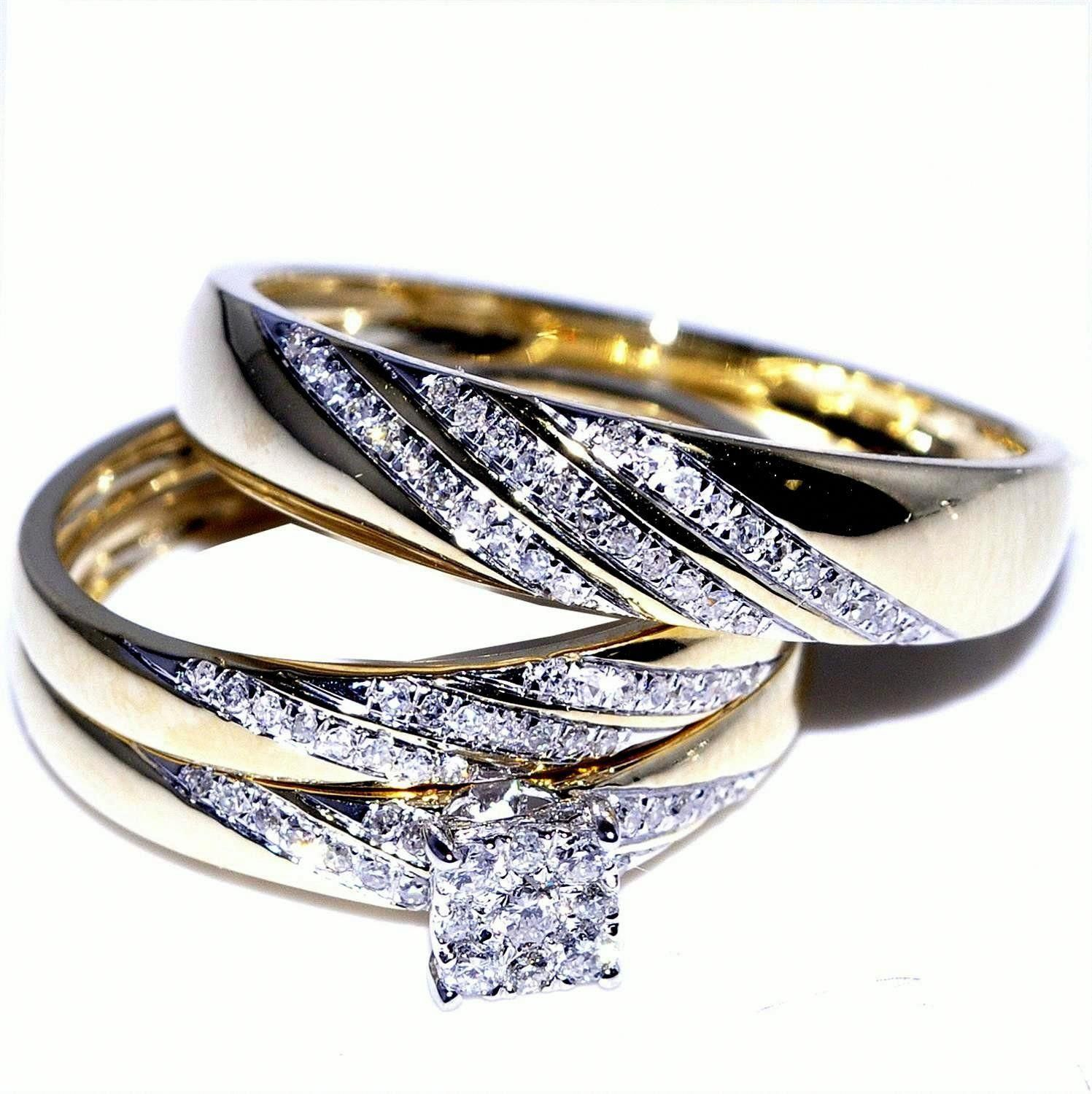 Selecting His and Hers Wedding Ring Sets