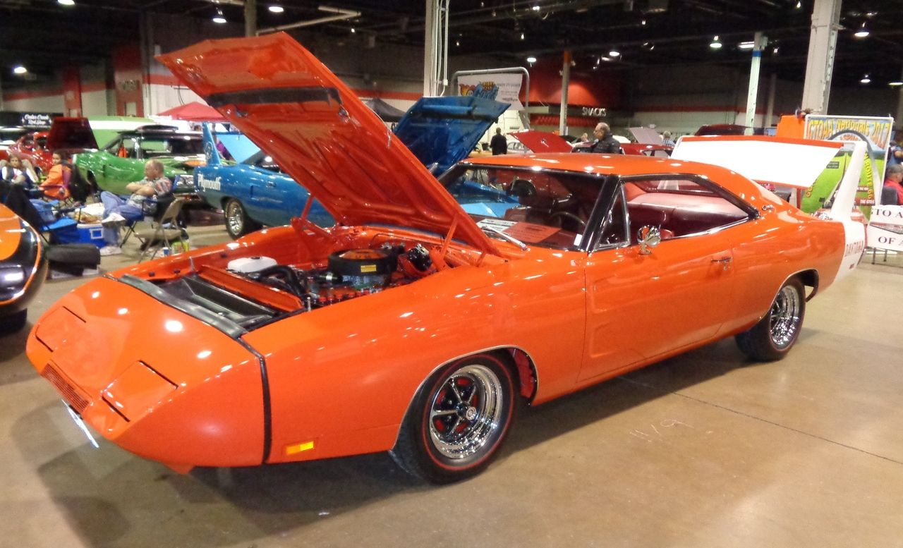 Dodge dodge charger with wing : 1969 Charger Daytona 440 with orange interior | Rare Mopars ...