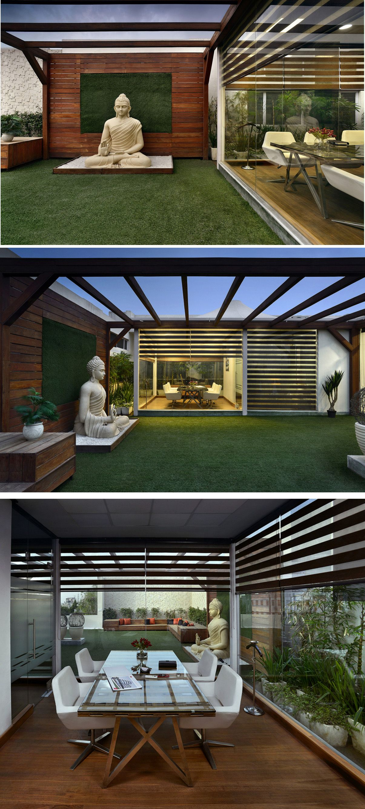 Terrace Landscape Office Design Terrace Garden Design, Terrace Decor, Terrace  Ideas, Balcony Design