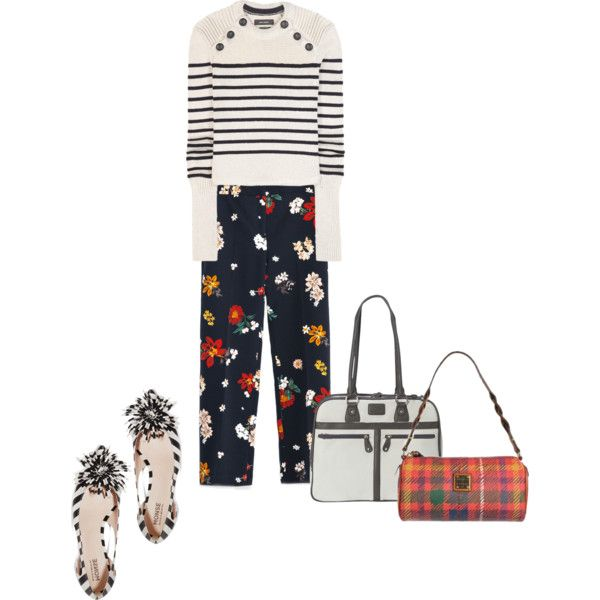 Friday outfit by perfectforyou on Polyvore featuring Isabel Marant, Zara, Monse, Mobile Edge and Dooney & Bourke