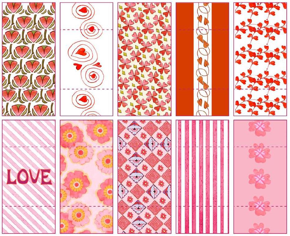 Papeles decorativos para envolver mini barras de chocolate - Papeles decorativos pared ...
