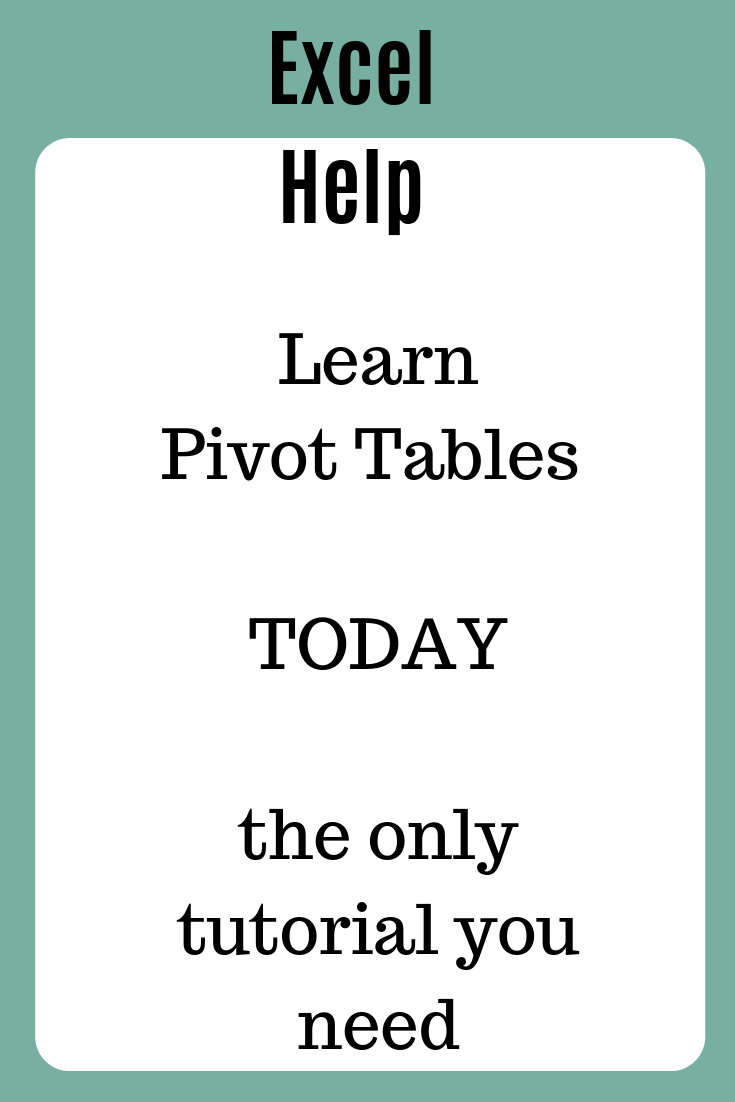 #Excel #PivotTables will make you the office hero you always wanted to be. Pivot tables are Excel's most powerful feature. A pivot table lets you summarize detailed data automatically. In this tutorial you will learn what is an Excel Pivot table and how to create an Excel pivot table to summarize a simple dataset.