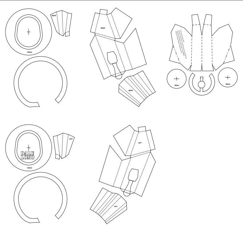 dali-lomo: Ant-Man Helmet DIY - Cardboard (free template) | pepakura ...