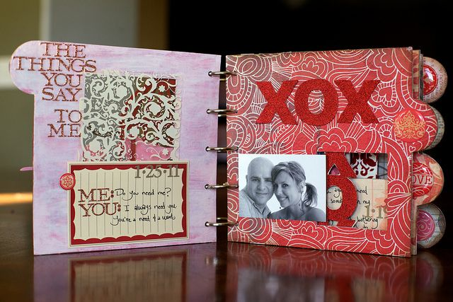 Valentine's gift idea: scrapbook of firsts (first date, first ...