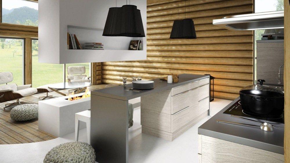 Des rangements malins pour agrandir les petites cuisines - Meuble de rangement pour petite cuisine ...