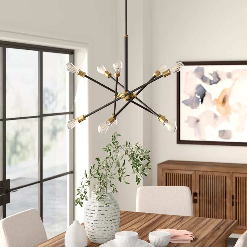 Pin On 6564, What Size Linear Chandelier For Dining Room