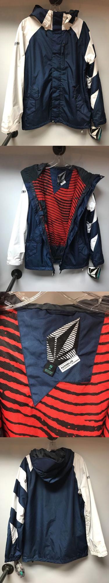 Coats and Jackets 26346: Volcom Singleton Jacket Fear Of The Dark Men S Small Snowboard Ski Winter -> BUY IT NOW ONLY: $76.45 on eBay!