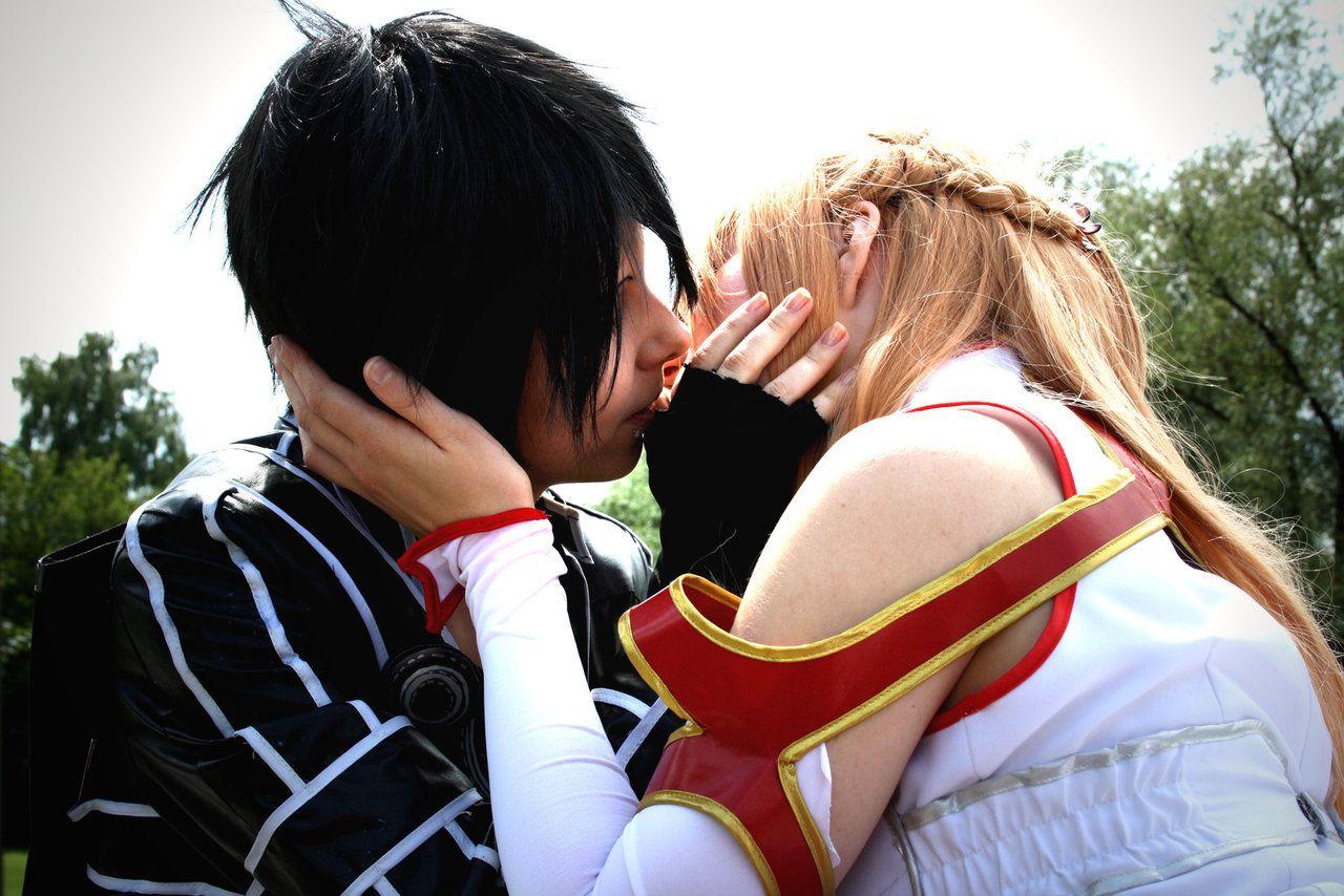 Dress up games favourites by asuna and kirito on deviantart - Sword Art Online Cosplay Kirito Hugs Asuna By K I M I On Deviantart