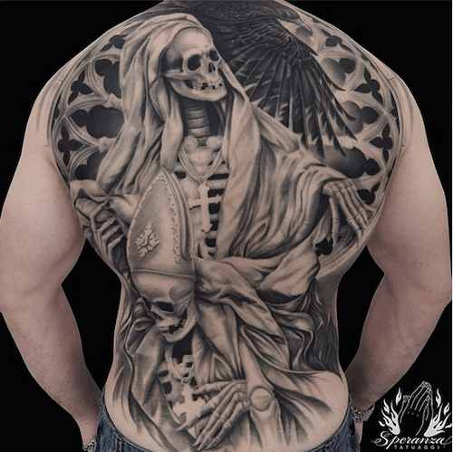 Full Back Tattoos   Inked Magazine