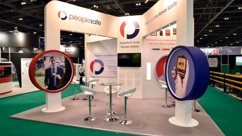 Expo Exhibition Stands In : Safety and health expo exhibition stand people safe booth2