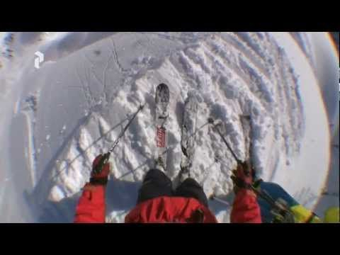 One of the most intense yet beautiful lines I've ever seen anyone take on skis!