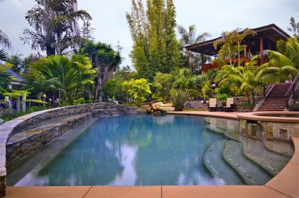 101 bilder von pool im garten pool im garten spa. Black Bedroom Furniture Sets. Home Design Ideas