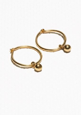 & Other Stories | Gold-Plated Sterling Silver Earrings  | Gold