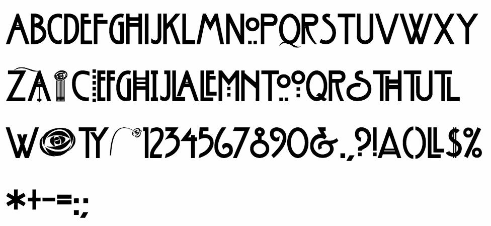 American Horror Story font. | American horror story font ...