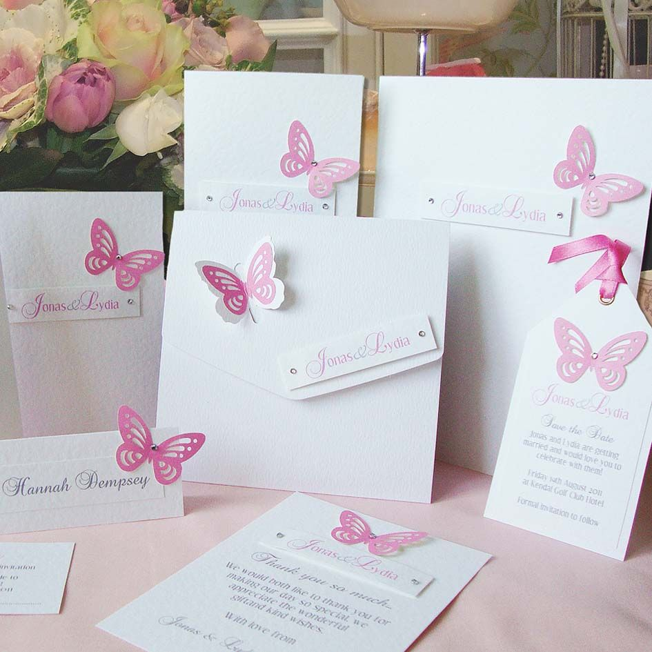 Love these butterflies | Wedding Stationery & Invitations ...