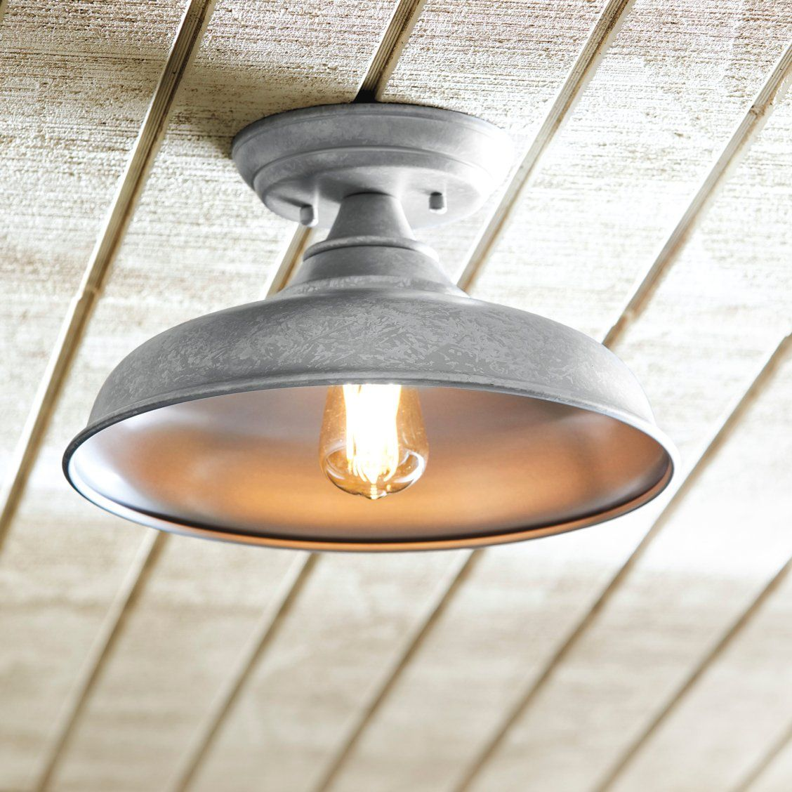 Archer Industrial Outdoor Ceiling Mount Light Fixture Ceiling