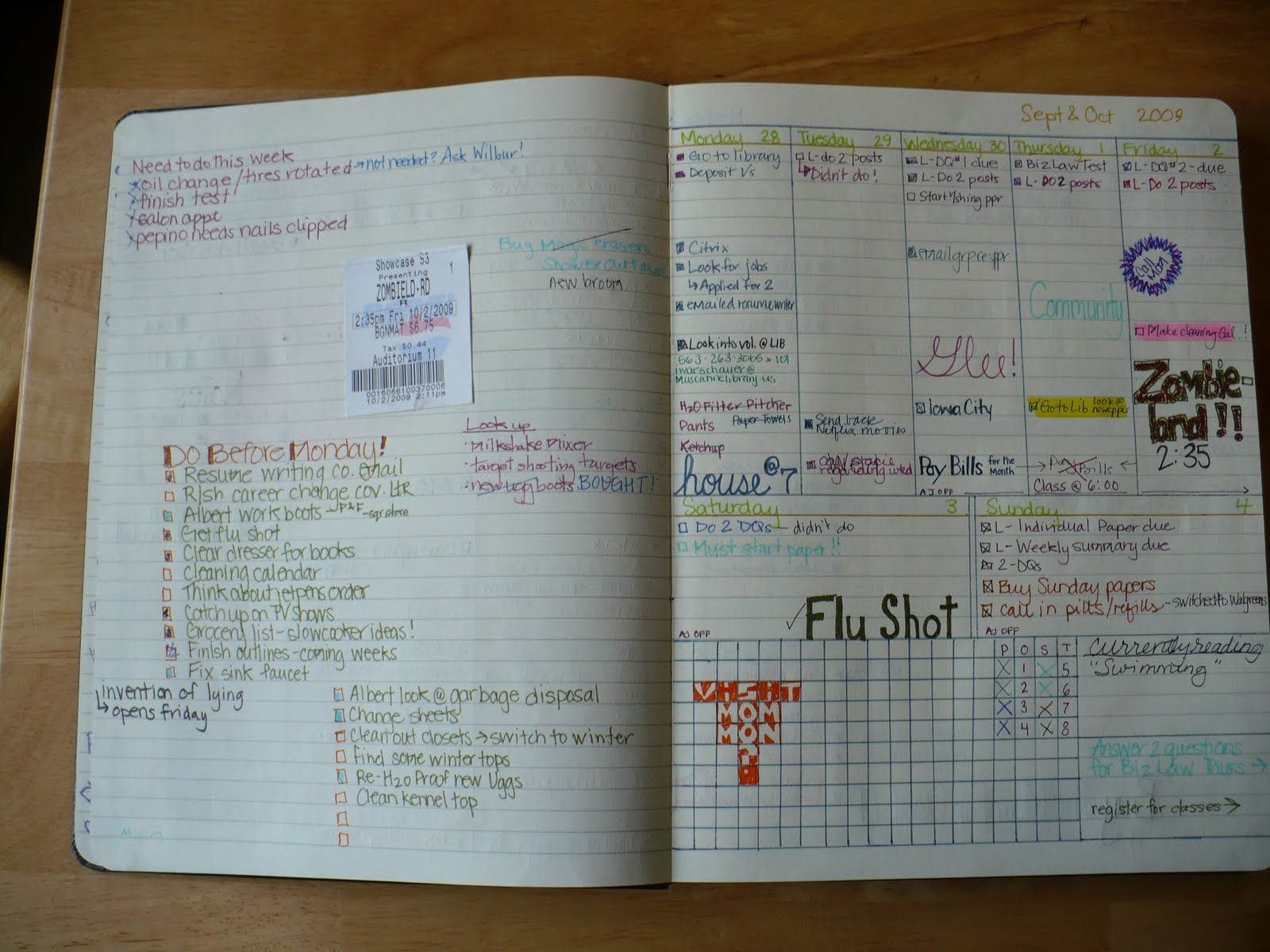 Bad Planner diy planner not a bad idea i am of picky about what i like